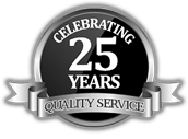Shade and Shutter Systems 25 Year Service Award