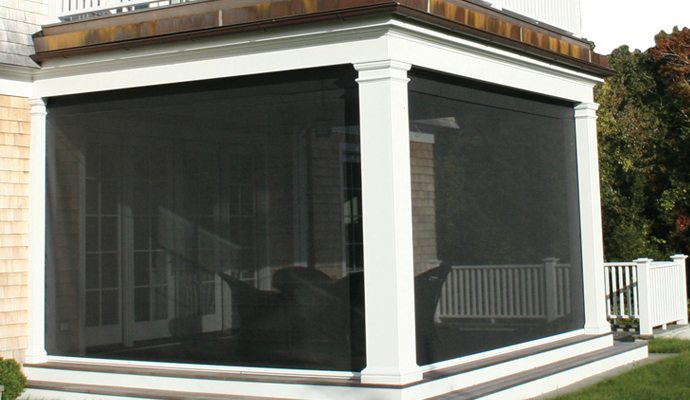 Retractable screens shade and shutter systems inc for Phantom sliding screen doors