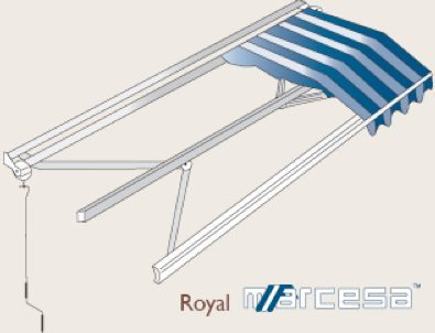 Royal Retractable Awning