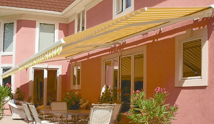 Retractable Awnings Awnings Shade And Shutter Systems
