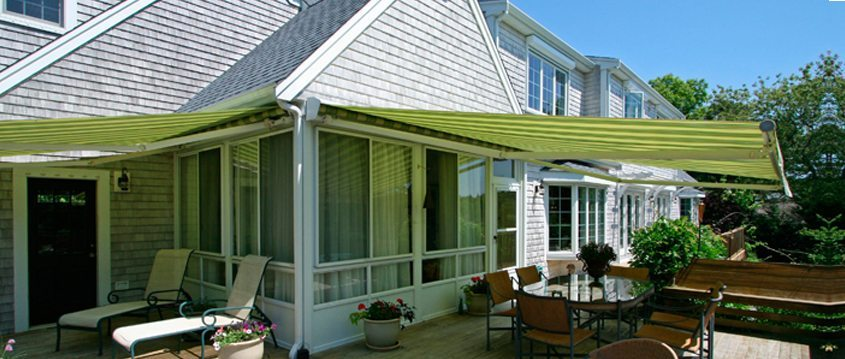 Fabric Awnings, Retractable Awnings, Shade and Shutter Systems