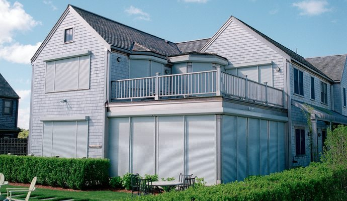 Rolling shutters shade and shutter systems inc - The rolling shutter home in bohemia ...