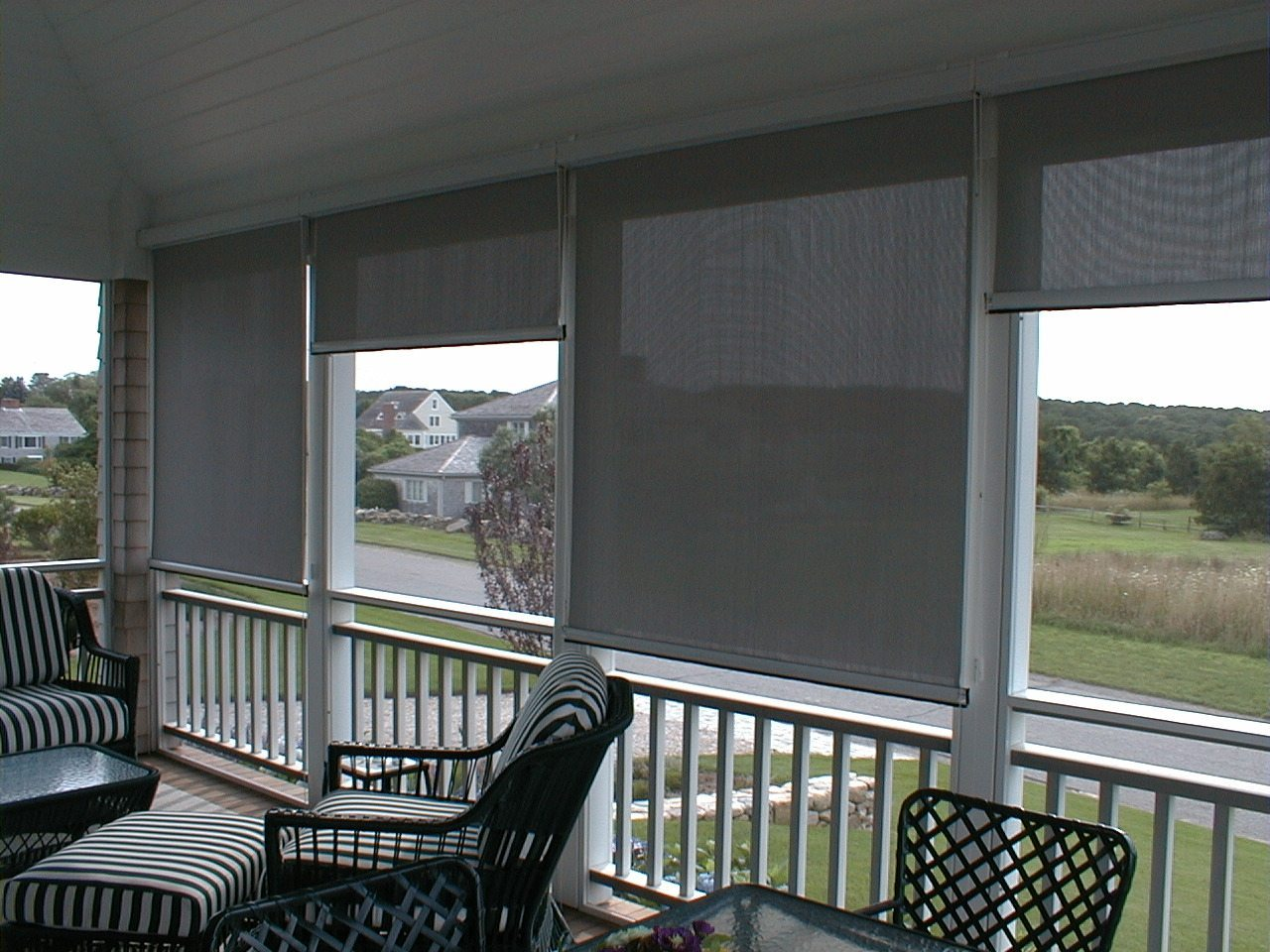 Solar Screens, screen in porch, screen in porches, screen-porch, screen porch, screening porch, patio screens, screen tight, screen in patio, Shade and Shutter Systems