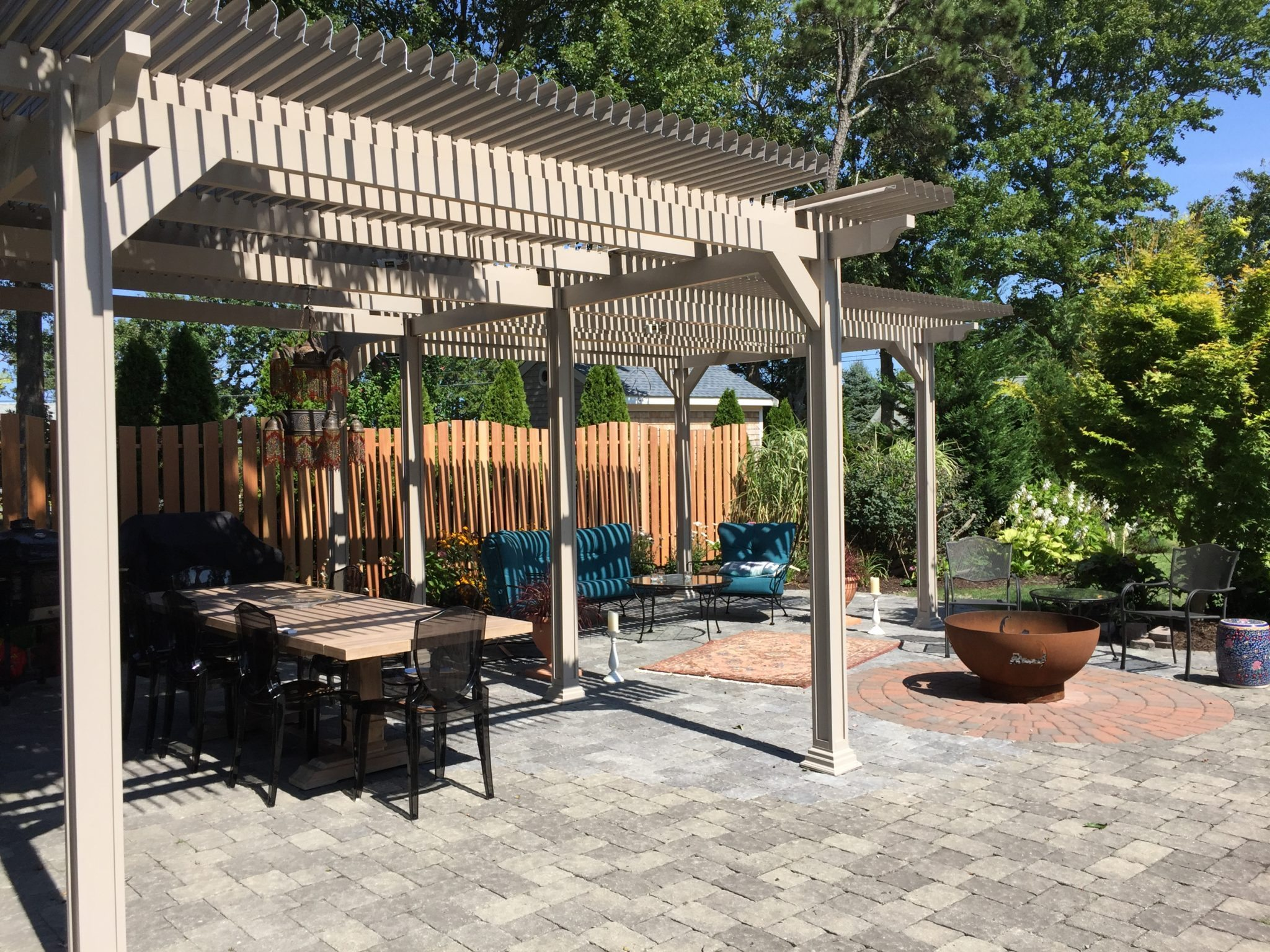 Louvered Patio Cover, Shade and shutter