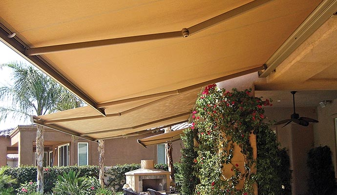 Retractable Awnings | Awnings | Shade and Shutter Systems ...